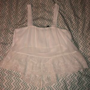American Eagle Outfitters Tops - Lace Tank from AE